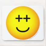 Out-of-it emoticon   mousepad