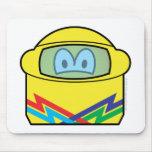 Helmet emoticon   mousepad