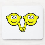 Holding hands buddy icons   mousepad
