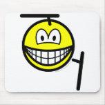 Tonfa smile martial arts  mousepad