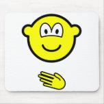 Paper buddy icon rock - paper - scissors  mousepad