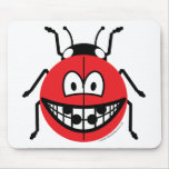 Ladybird smile   mousepad