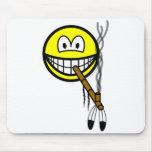 Peacepipe smile   mousepad