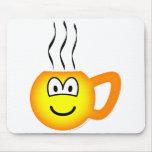 Cup emoticon Hot  mousepad