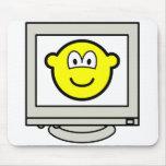 Computer screen buddy icon   mousepad