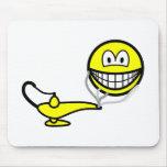 Genie smile   mousepad