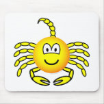 Scorpio emoticon Zodiac sign  mousepad