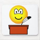 Scribe emoticon   mousepad