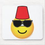 Fez emoticon   mousepad