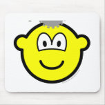 Thinking buddy icon Cogs  mousepad
