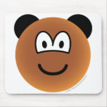 Bear emoticon   mousepad