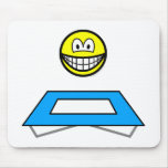 Trampoline smile Olympic sport Artistic gymnastics mousepad