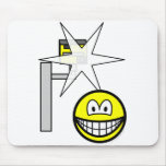 Speed camera smile Caught  mousepad