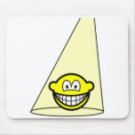 Spotlight smile   mousepad