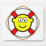 Lifesaver buddy icon   mousepad