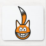 Fox buddy icon   mousepad