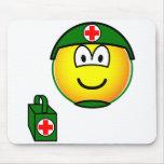 M*A*S*H emoticon medic  mousepad