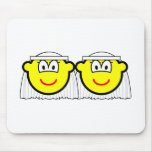Gay Marriage buddy icons Female  mousepad