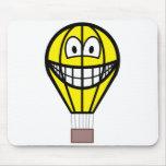 Balloon smile   mousepad