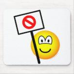 Demonstrator emoticon   mousepad
