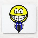 Pocket bike smile   mousepad