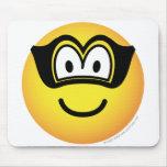 Robber emoticon   mousepad