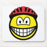 Biker smile   mousepad