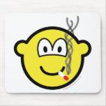 Smoking buddy icon   mousepad