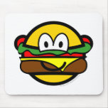 Hamburger buddy icon   mousepad