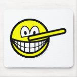 Pinocchio smile   mousepad