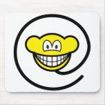 Web monkey smile   mousepad