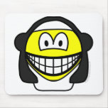 Nun smile   mousepad