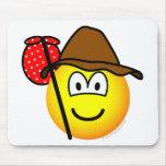 Hobo emoticon   mousepad