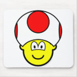 Toad buddy icon video game  mousepad