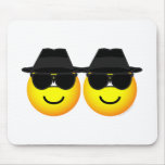 Blues Brothers emoticons   mousepad