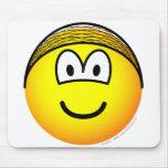 Hairnet emoticon   mousepad