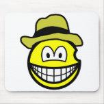 Van Gogh smile   mousepad