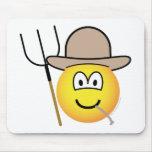 Farmer emoticon   mousepad