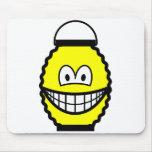 Japanese lantern smile   mousepad