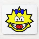 Simpson smile Maggie  mousepad