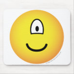 Cycloop emoticon   mousepad