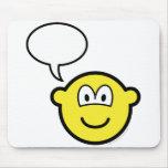Talking buddy icon   mousepad