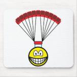 Parachute smile   mousepad