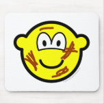 Dirty buddy icon   mousepad