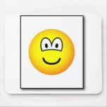 Passport photo emoticon   mousepad