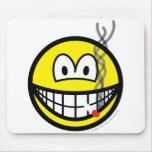 Smoking smile   mousepad