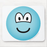 Hypothermal emoticon   mousepad