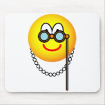 Opera emoticon visitor  mousepad