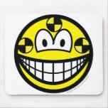 Crash test dummy smile   mousepad