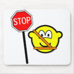 Safety patrol buddy icon   mousepad